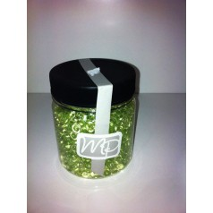 Dekorations pärlor grön