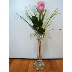 Handgjord glas vas