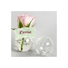 Placeringsboll i glas.