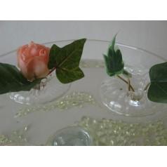 Flytring i glas Flower