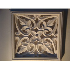 Carve wall decorations tavla small Flower